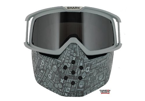 Shark Online Shop Raw All Over Face Shield mask and goggles