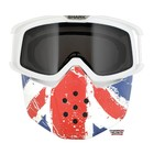 SHARK Raw Union Jack Face Shield mask and goggles