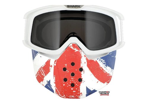 Shark Online Shop Raw Union Jack Face Shield mask and goggles