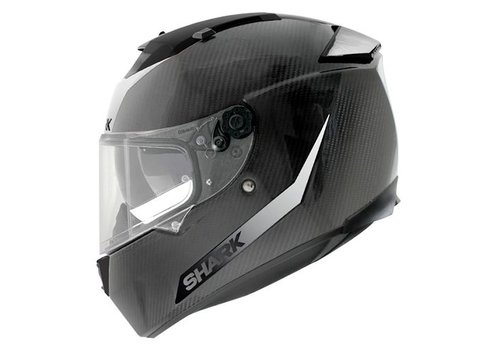 Shark Online Shop Speed-r Carbon Skin capacete Branco Preto