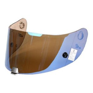 HJC R-PHA 10 PINLOCK & TEAR OFF PREPARED IRIDIUM BLUE VISOR
