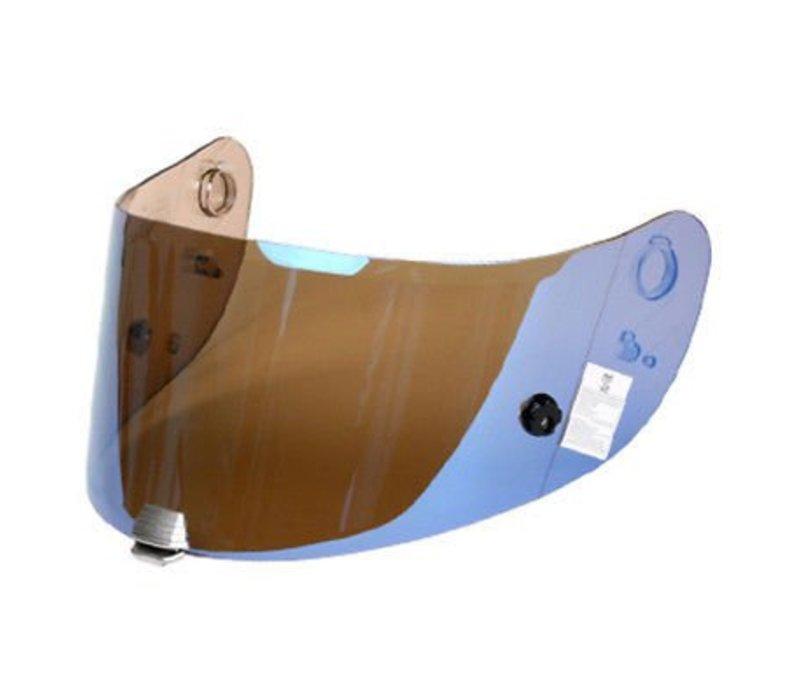 R-PHA 10 PINLOCK & TEAR OFF PREPARED IRIDIUM BLUE VISOR