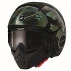 SHARK Raw Kurtz capacete preto matt verde