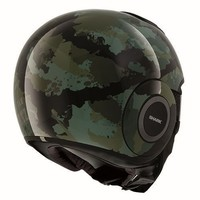 Raw Kurtz casco matt nero verde