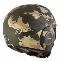 Raw Kurtz capacete matt verde ecru preto