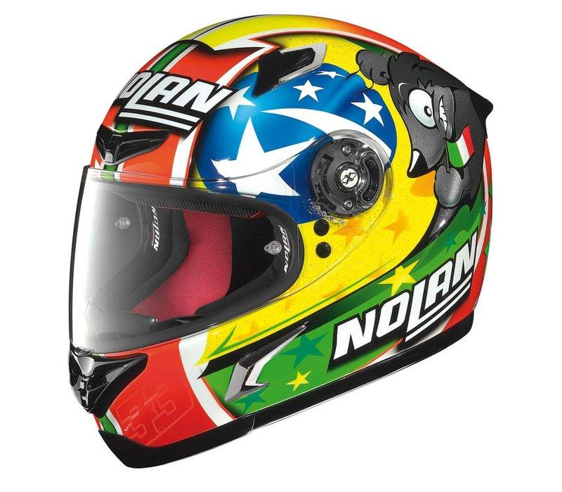 X-802R Marco Melandri Misano helmet
