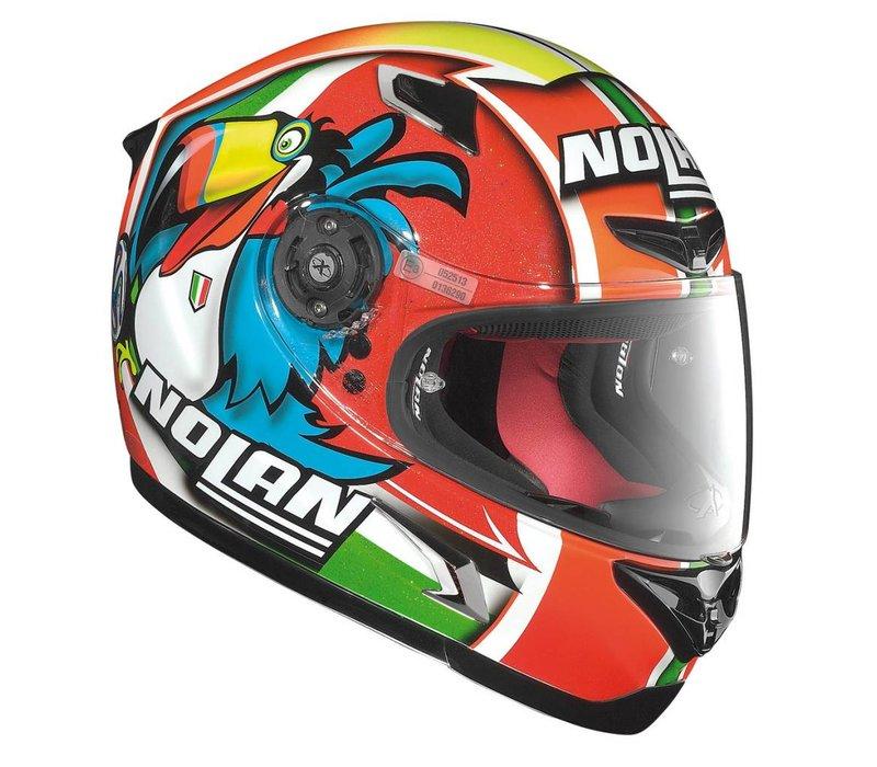 X-802R Marco Melandri Misano 94 helm