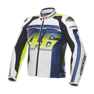 Dainese VR46 D1 Pelle Leather Jacket