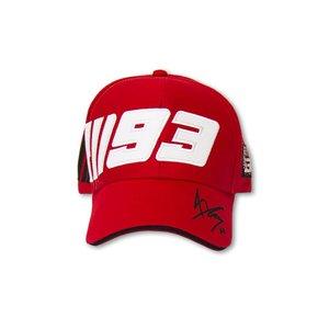 Marc Marquez boné 93 vermelho