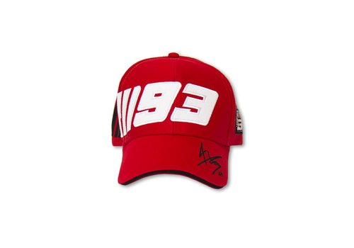 Marc Marquez casquette 93 rouge