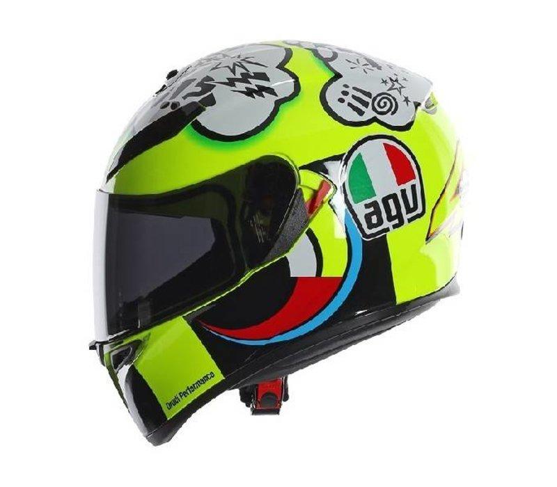 K3 SV Misano 2011 capacete Valentino Rossi