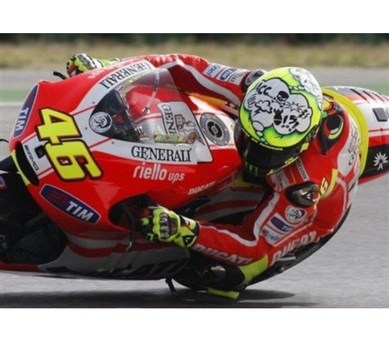K3 SV Misano 2011 WTF casco Valentino Rossi