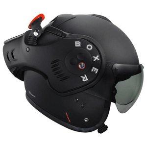 ROOF Boxer V8 Matt negro casco