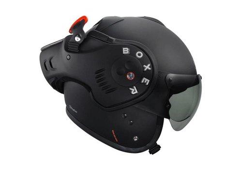 ROOF Boxer V8 Matt preto capacete