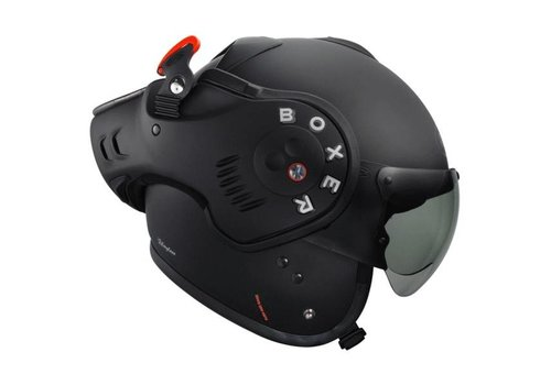 Roof Online Shop Boxer V8 Matt Black helm