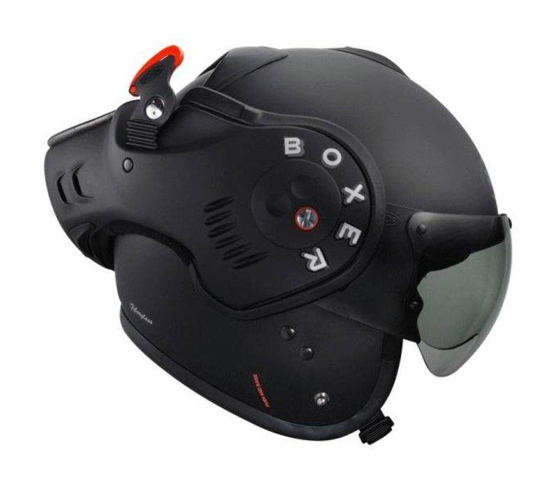 Boxer V8 Matt preto capacete