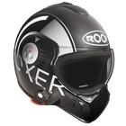 ROOF Boxer V8 cinza preto capacete