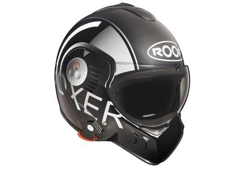 Roof Online Shop Boxer V8 Graphic Grey Black helm