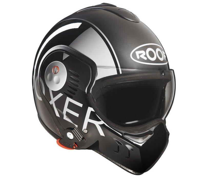 Boxer V8 gris noir casque