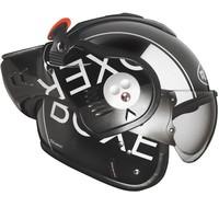 Boxer V8 gris negro casco
