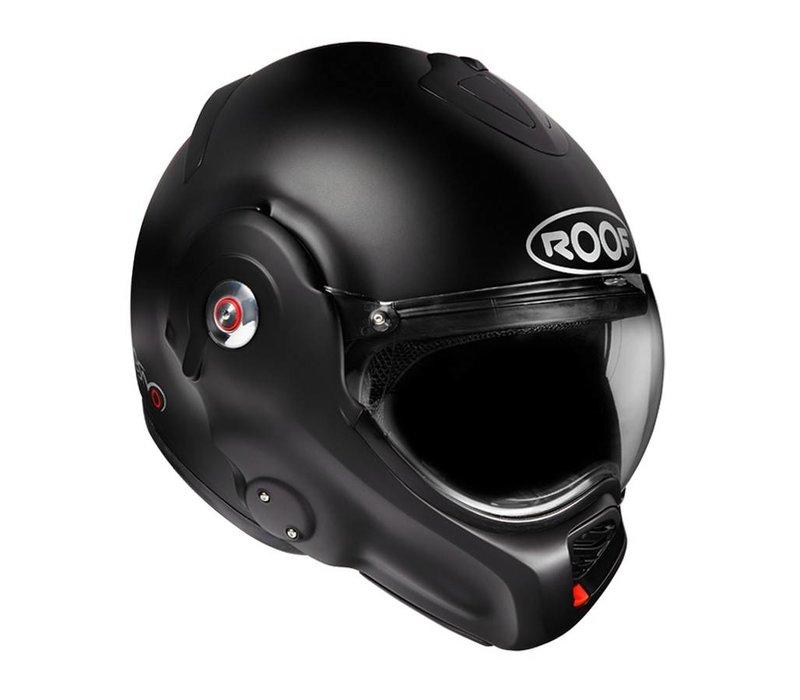 Desmo Schwarz matt Helm