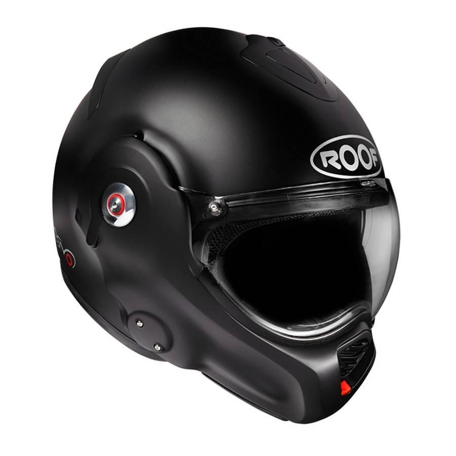Capacete Roof Desmo Preto Matt Champion Helmets