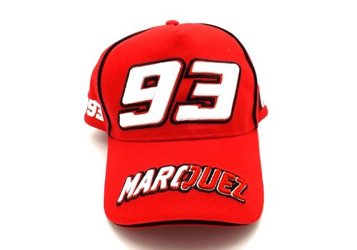 Marc Marquez casquette 93 rouge - MMMCA103307