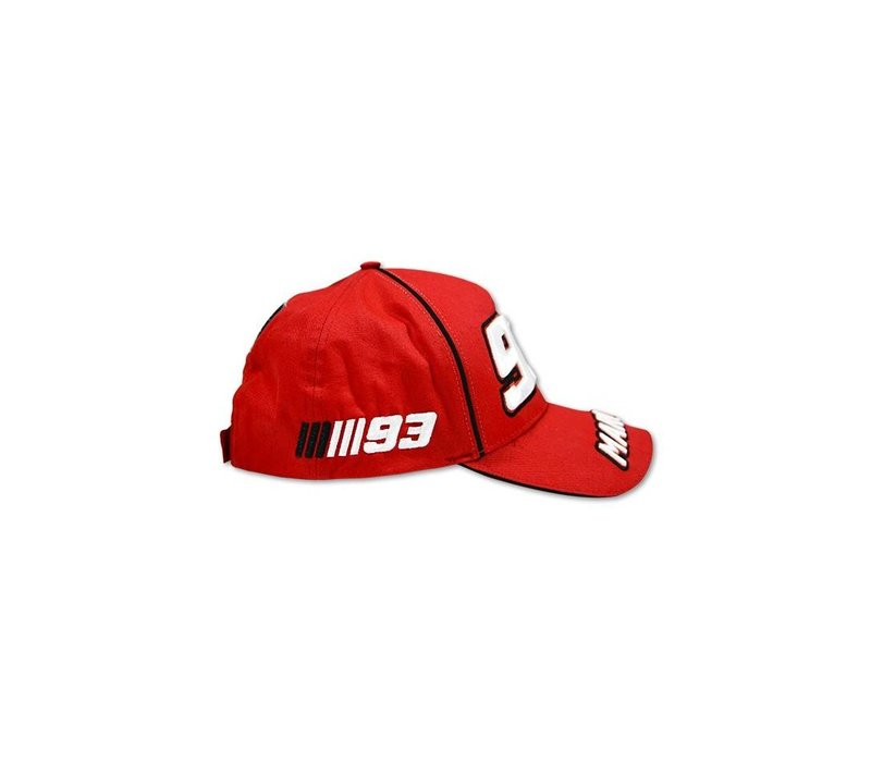Marc Marquez Mütze 93 rot - MMMCA103307