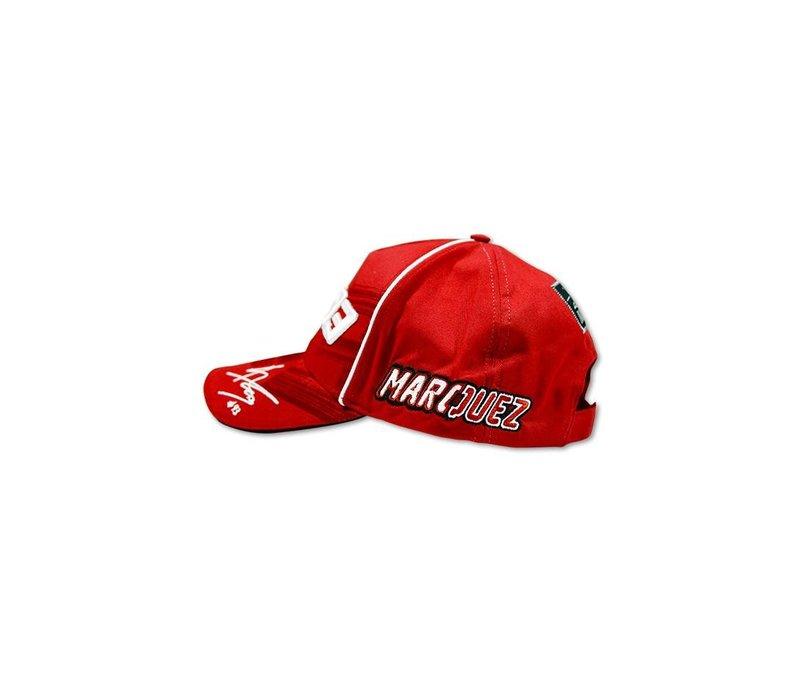 Marc Marquez casquette 93 rouge - MMMCA1033407