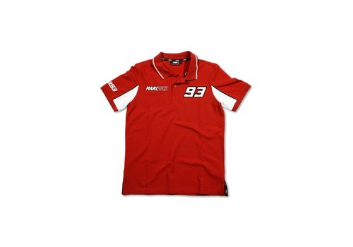 Marc Marquez 93 Polo Rood - MMMPO101607