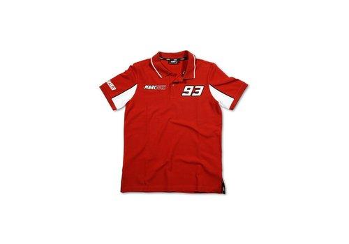 Marc Marquez 93 Polo vermelho - MMMPO101607