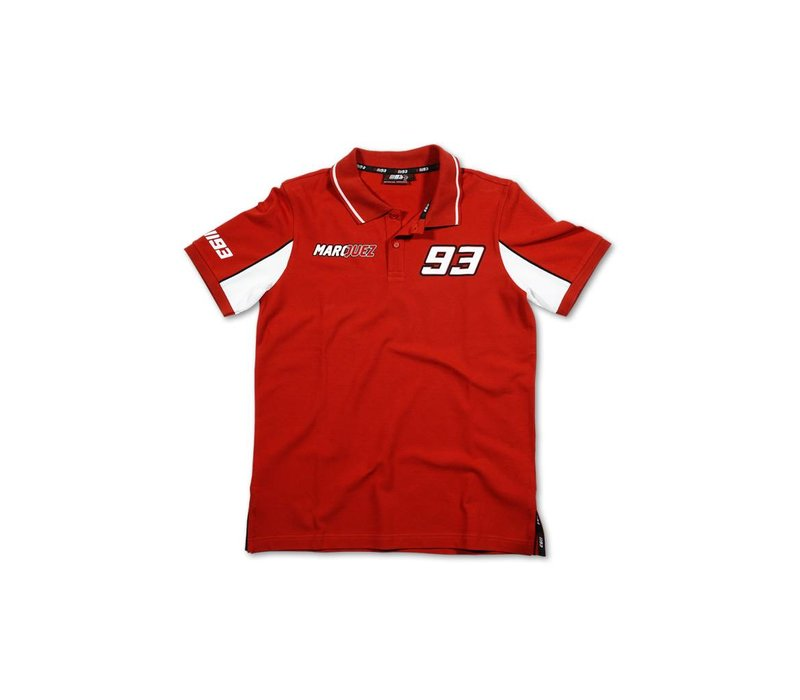 Marc Marquez 93 Polo Rot - MMMPO101607