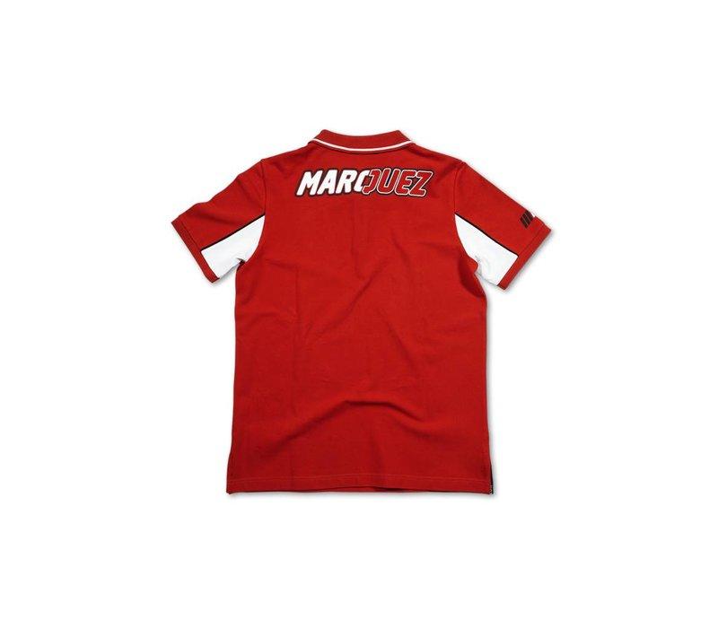 Marc Marquez 93 Polo rojo - MMMPO101607