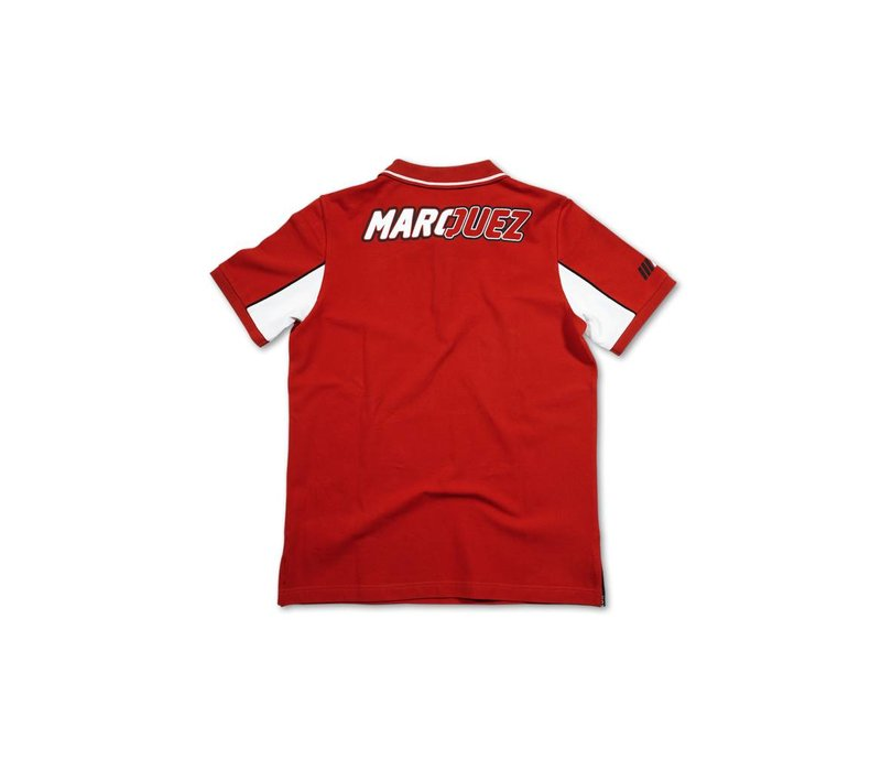 Marc Marquez 93 Polo rouge - MMMPO101607