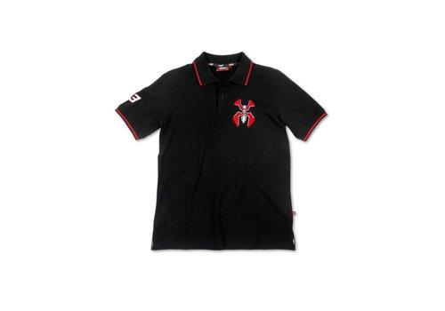 Marc Marquez 93 Polo negro - MMMPO105704