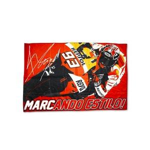 Marc Marquez bandeira 93   100 x 90 cm - MMUFG104503