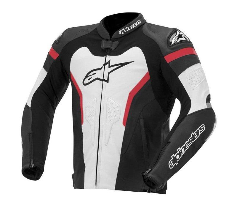 Gp Pro jaqueta preto branco vermelho