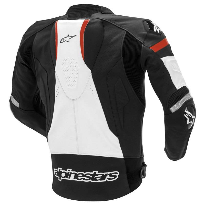 alpinestars gp pro jacket black white red champion helmets. Black Bedroom Furniture Sets. Home Design Ideas