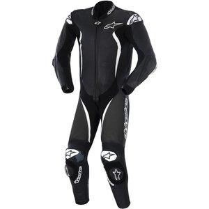 Alpinestars GP Tech One Piece Racing Suit Black White