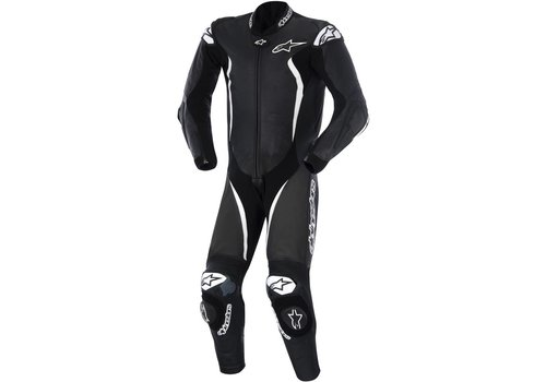 Alpinestars GP Tech One Piece Racing Suit Black White