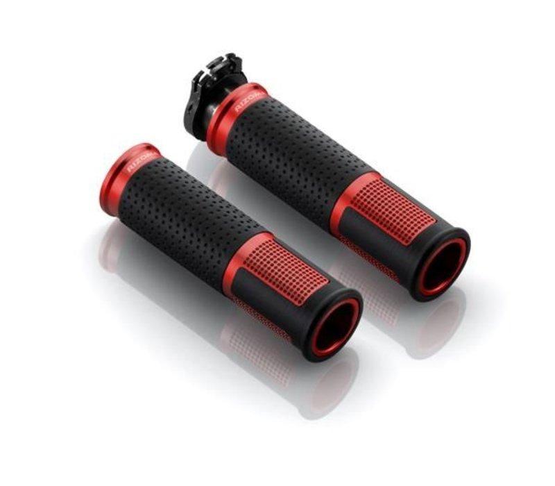 GR213R Grips lux Vermelho