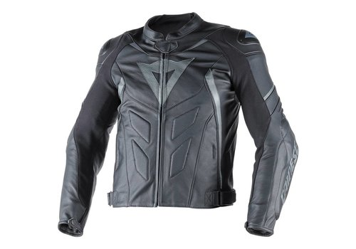 Dainese Online Shop Avro D1 leather Jacket - Black Black Antracite
