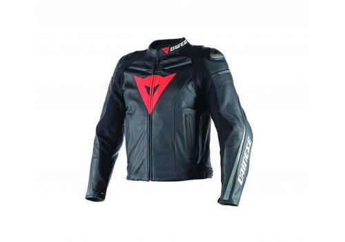 Dainese Online Shop Super Fast Pelle Jacket Black Black Anthracite