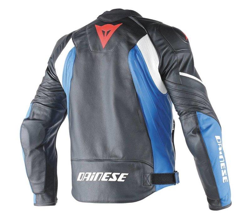 Avro D1 chaqueta - Negro Azul Blanco