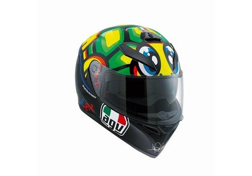 AGV K3 SV tartaruga Valentino Rossi capacete