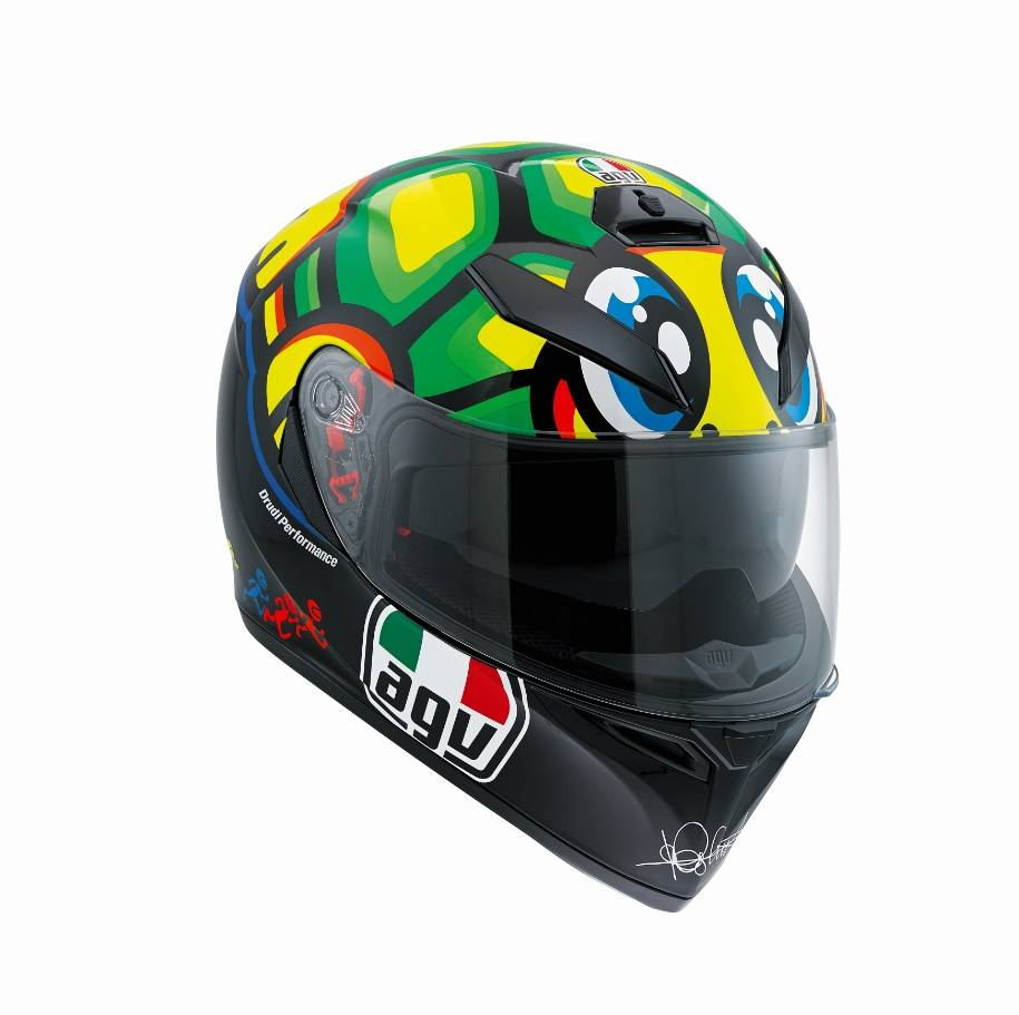 agv k3 sv tartaruga turtle helmet valentino rossi. Black Bedroom Furniture Sets. Home Design Ideas