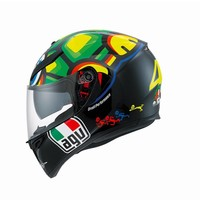 K3 SV tartaruga capacete