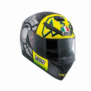AGV K3 SV Winter Test 2012 Casco - Valentino Rossi