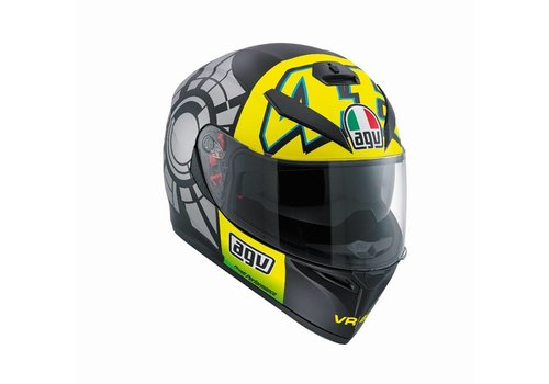 AGV Online Shop K3 SV Winter Test 2012 Capacete - Valentino Rossi