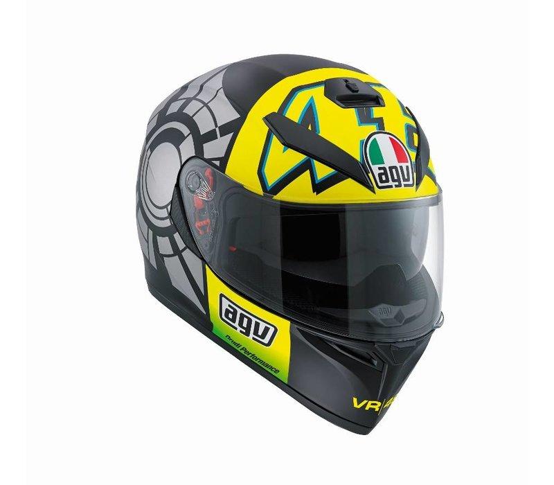 K3 SV Winter Test 2012 Capacete - Valentino Rossi